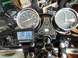 沖縄A様CB400最後のエンジン熱入れチェック210824