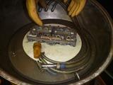 ウエットブラスト掃除と1号機用ヘッドブラスト (3)