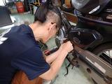 エンジンブロースーパーカブ復旧 (1)