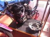 CB250Nエンジン搭載仕上げ