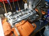 まっきーR号エンジンシリンダーヘッド下拵え (2)