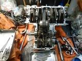 CB400国内398ccCP25号機腰下組み立て (3)