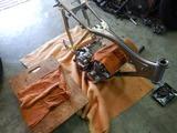 コムアキ号フレーム塗装完了組立て (4)