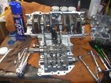 さいとうR用エンジン部品整備 (1)