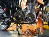 沖縄A様CB400エンジンマウント取り付け210805 (2)