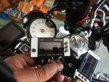 GW中に1号機スタックタコメーター取付 (3)