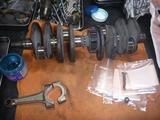 イエロー号エンジン腰下組立て (1)