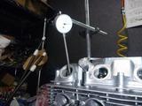 CPレーサーエンジンバルブクリアランス測定 (1)