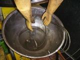 ウエットブラスト掃除と1号機用ヘッドブラスト (1)