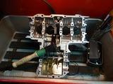 まっきーレーサーエンジンアッパーケース下拵え (2)