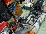 CB400国内398cc用純正部品取り付け (4)