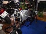 銀ちゃんレーサー号フロントディスクとセパハンフッティング (4)
