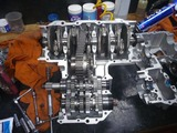 まっきーレーサー用エンジン腰下組立て (2)