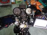 GW中に1号機スタックタコメーター取付 (2)