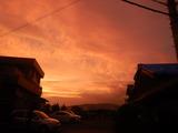台風12号到来前日