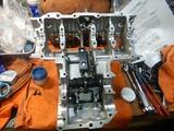 京都K様CB400レストア組み立て本格的に開始201221 (5)