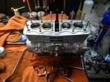CB400国内398ccCP25号機エンジン腰上組み立て210328 (5)