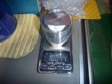 イエロー号ピストン重量測定 (1)
