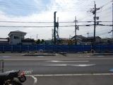 5月15日CP前空き地建設工事