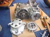 まっきーレーサー号エンジン部品取り分解 (2)