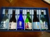 金沢地酒日本酒呑み比べセット対戦一日目 (1)