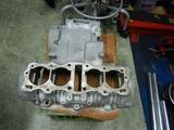 398cc用クランクケースブラスト仕上げ (2)