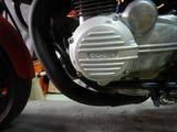 半袖一家Y様CB400F発電、充電チェック (1)