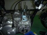 2号機オイル漏れ修理 (2)