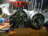CB400国内398ccCP25号機腰下組み立て (6)
