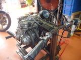 テスト用エンジンの整備 (8)