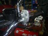 7号機ヘルメットホルダー取付け (2)