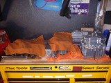 CPレーサー3号機用エンジン組立て控え場所へ移動