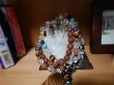 パワーストーン天然石ネックレスのお守り製作201218 (2)