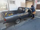 サニトラ掃除洗車