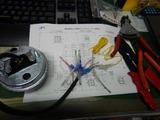 旧CP1号レーサー改め24号機デジタルメーター取付 (1)