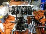 京都K様CB400レストア組み立て腰下201221 (1)