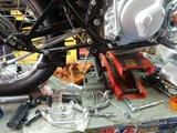 ブログNG車AK号ステップ&ブレーキペダル交換 (1)