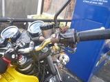 旧2号機ヘルメットホルダー取付け (3)