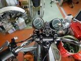 CB400国内398cc25号機メーター周り仕上げ (5)