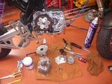 カスタムモンキーエンジン組立て (1)