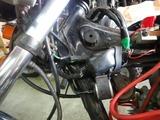 神戸T様CB400F国内408ccフル強化オイルポンプ「極み」取付 (4)
