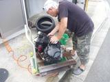 XJR400Rエンジン交換 (3)
