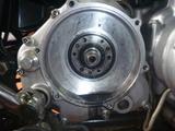1号機乾式クラッチオイル漏れ修理2回目160818 (2)