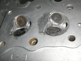 燃焼室加工 (2)