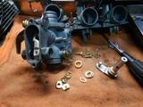 CB400国内398cc25号機用キャブレター組み立て (3)