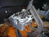 500cc化エンジン強化バルブスプリング仕上げ