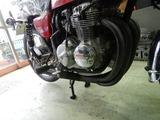 CB400F逆車408cc整備210817 (6)