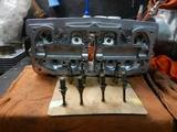 京都K様398エンジンシリンダーヘッドブラスト仕上げ(3)