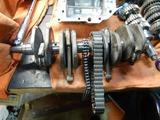CB400国内398ccCP25号機腰下組み立て (1)