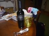 アルゼンチン産ワイン二番勝負赤ワインと対戦開始
